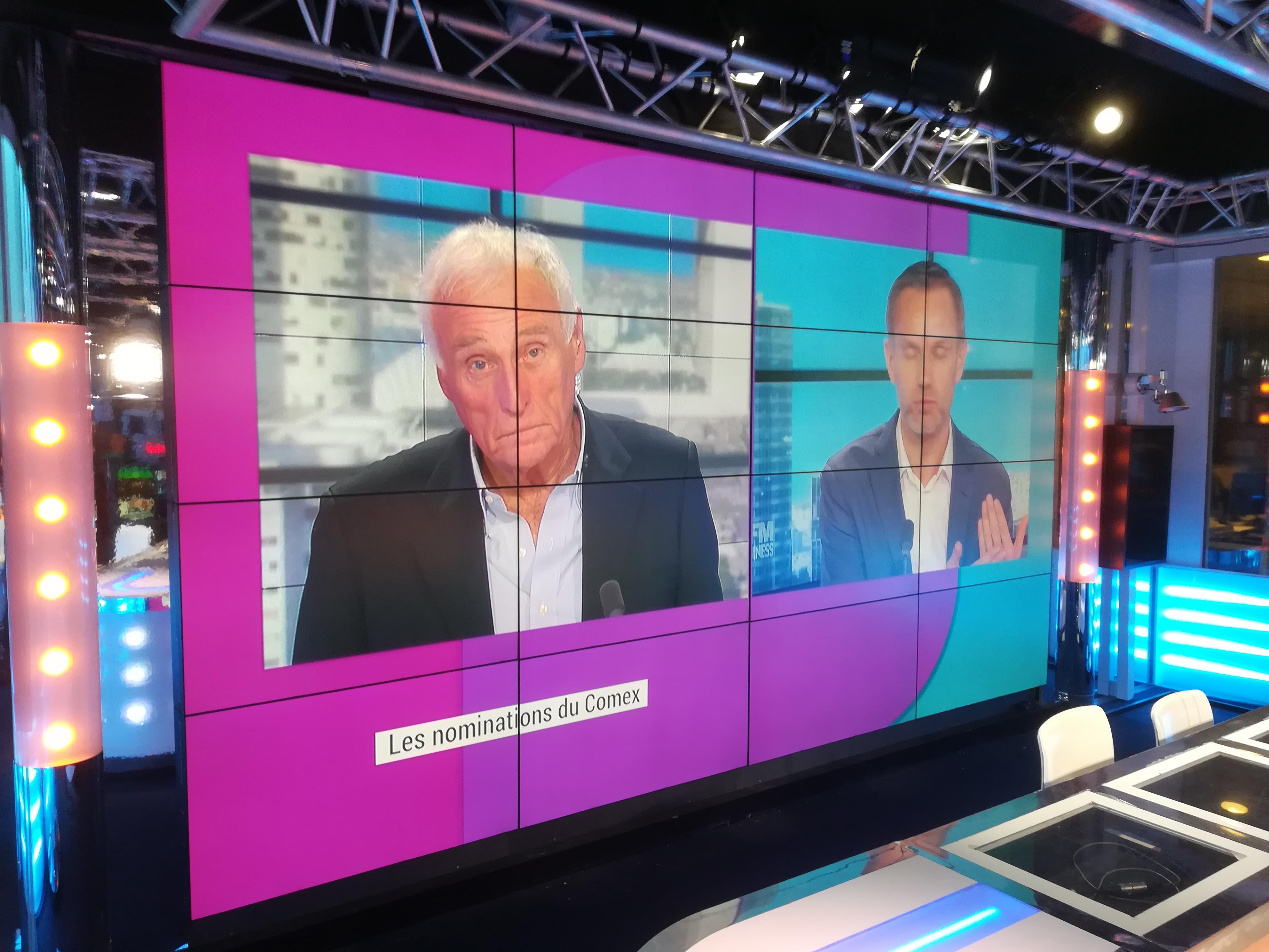 Mur d'image, Broadcast