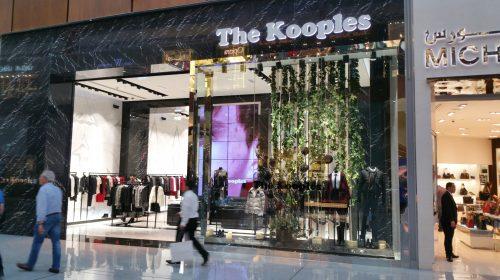 mur d'images par CACV pour The Kooples
